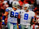 Jason Witten Tony Romo Autographed 16x20 Cowboys Smiling Photo- JSA W Auth