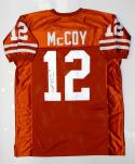 Colt McCoy Autographed Orange College Style Jersey *1- JSA W Authenticated