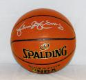 Julius Erving Autographed NBA Spalding Basketball- JSA W Authenticated