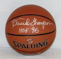 David Thompson Autographed NBA Spalding Basketball With HOF and PSA/DNA Authenticated
