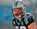Luke Kuechly Autographed *Blk Carolina Panthers 16x20 Up Close Photo- JSA W Auth