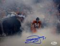 Brian Cushing Autographed Texans 8x10 Running In Smoke Photo- JSA W Auth