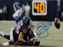 Brian Cushing Autographed Texans 8x10 Against Tampa Photo- JSA W Auth