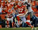 Travis Kelce Autographed Kansas City 16x20 Against Raiders Photo- JSA W Auth