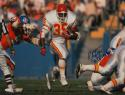 Christian Okoye Autographed Kansas City 16x20 Against Broncos Photo- JSA W Auth