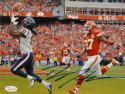 DeAndre Hopkins Autographed Texans 8x10 Catch Against Chiefs Photo- JSA W Auth