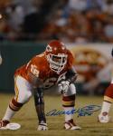 Will Shields Signed Kansas City 8x10 Three Point Stance Photo W/ HOF- JSA W Auth