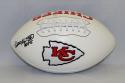 Will Shields Autographed Kansas City Chiefs Logo Football W/ HOF- JSA W Authenticated