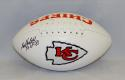 Bobby Bell Autographed Kansas City Chiefs Logo Football W/ HOF- JSA W Authenticated
