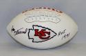 Jan Stenerud Autographed Kansas City Chiefs Logo Football W/ HOF- JSA W Auth