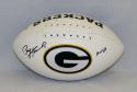 Paul Hornung Autographed Green Bay Packers Logo Football W/ HOF- JSA W Auth