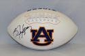 Bo Jackson Autographed Auburn Tigers Logo Football- JSA Witnessed Auth