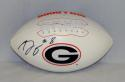 A.J. Green Autographed Georgia Bulldogs Logo Football- JSA W Authenticated