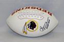 Sonny Jurgensen Autographed Washington Redskins Logo Football W/ HOF- JSA W Auth