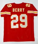 Eric Berry Autographed Red Pro Style Jersey- JSA W Authenticated