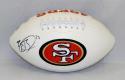Reggie Bush Autographed San Francisco 49ers Logo Football- JSA W Authenticated