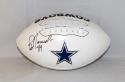 Jay Novacek Autographed Dallas Cowboys Logo Football- JSA W Auth