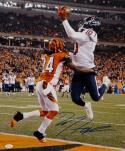 DeAndre Hopkins Autographed Houston Texans 16x20 Against Bengals Photo- JSA W Auth