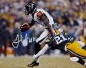 Julio Jones Autographed Falcons 8x10 Running Against Packers Photo- JSA W Auth