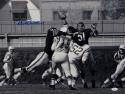 Dick Butkus Autographed 16x20 B&W Against Colts Photo- JSA W Authenticated