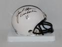 Jack Ham Autographed Nittany Lions Mini Helmet W/ Linebacker U- JSA W Auth