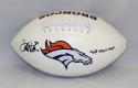 Terrell Davis Autographed Denver Broncos Logo Football W/ MVP- JSA W Authenticated