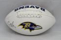 C. J. Mosley Autographed Baltimore Ravens Logo Football- JSA Witnessed Auth