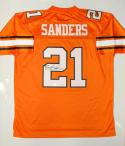 Barry Sanders Autographed Oklahoma State Cowboys Authentic Jersey- JSA W Auth