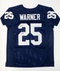 Curt Warner Autographed Navy Blue College Style Jersey W/ CHOF- JSA W Auth