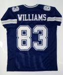 Terrance Williams Autographed Blue Pro Style Jersey- JSA W Auth