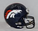 Demaryius Thomas Autographed F/S Denver Broncos Helmet- JSA W Authenticated