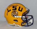 Odell Beckham Autographed LSU Tigers Full Size Speed Helmet- JSA Witnessed Auth