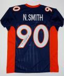 Neil Smith Autographed Blue Pro Style Jersey- JSA W Authenticated