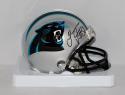 Thomas Davis Autographed Carolina Panthers Mini Helmet- JSA W Authenticated