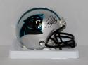 Greg Olsen Autographed Carolina Panthers Mini Helmet- JSA W Authenticated