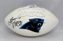 Thomas Davis Autographed Carolina Panthers Logo Football- JSA W Authenticated