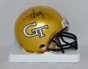Demaryius Thomas Autographed Georgia Tech Mini Helmet- JSA W Auth