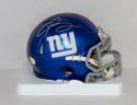 Odell Beckham Autographed New York Giants Speed Mini Helmet- JSA Authenticated