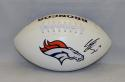 Emmanuel Sanders Autographed Denver Broncos Logo Football- JSA W Authenticated