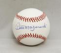 Bill Mazeroski Autographed Rawlings OML Baseball with JSA W Authentication