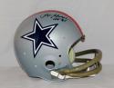 Roger Staubach Autographed Cowboys Full Size 1976 TK Helmet W/ HOF- JSA W Auth