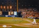 Cal Ripken Jr Autographed Baltimore Orioles 8x10 Scoreboard Photo- JSA Authenticated