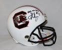 Jadeveon Clowney Autographed South Carolina F/S Helmet W/ DPOY- JSA W Auth