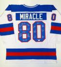 1980 Miracle On Ice Team USA Autographed White Jersey W/ 17 Sigs- JSA W Auth