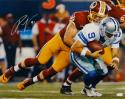 Ryan Kerrigan Autographed Redskins 16x20 Sacking Romo Photo- JSA W Auth