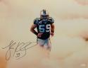 Luke Kuechly Autographed Carolina Panthers 16x20 In Smoke Photo- JSA W Auth