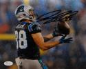 Greg Olsen Autographed Carolina Panthers 8x10 Rain Photo- JSA W Auth