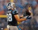 Greg Olsen Autographed Carolina Panthers 16x20 Rain Photo- JSA W Auth