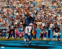 Greg Olsen Autographed Carolina Panthers 16x20 End Zone Catch Photo- JSA W Auth
