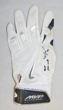 George Springer Signed Astros Game Used 2014 Nike Batting Glove- JSA WP012997